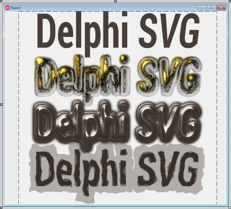Version 2.2 of SVG control package released